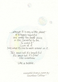 bubble poem